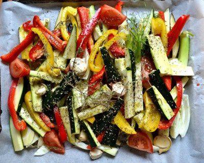 Légumes d'Eté Confits – Pour accompagner un barbecue, mais pas que…