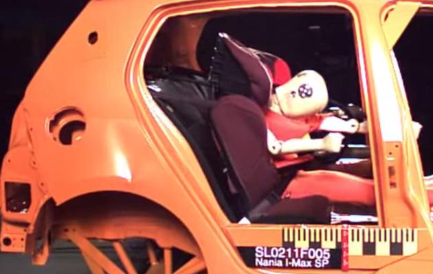 Crash-tests siège auto 2014 (partie 2 : 10 modèles low-cost)