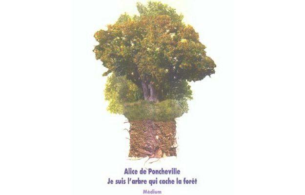 """""""Je suis l'arbre qui cache la forêt"""" d'Alice de Poncheville"""