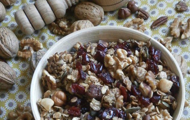 Granola d'automne ............ à la noix
