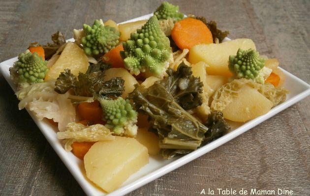 Poêlée de choux kale
