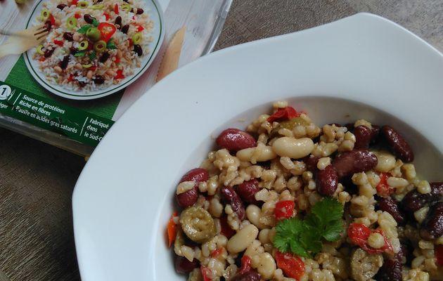 Nouveautés chez SOY : Ma salade repas -veggie-
