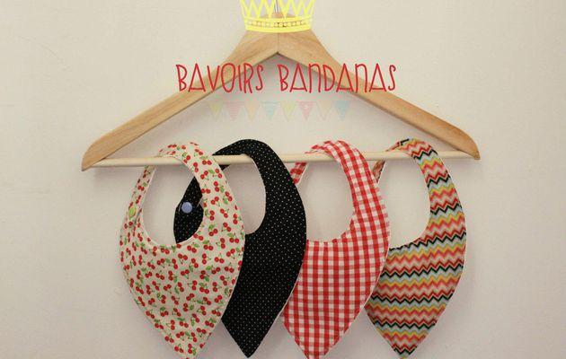 Bavoirs bandanas