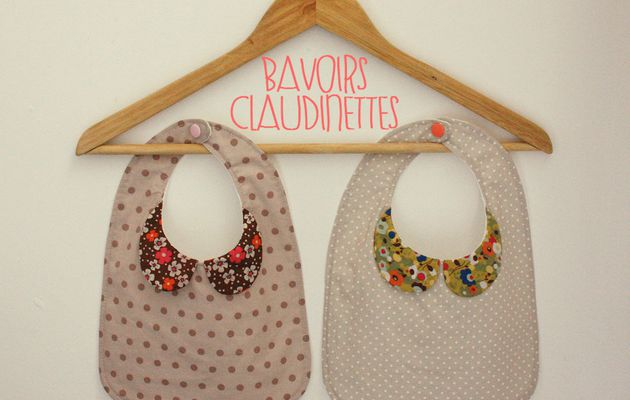 Bavoirs Claudinettes