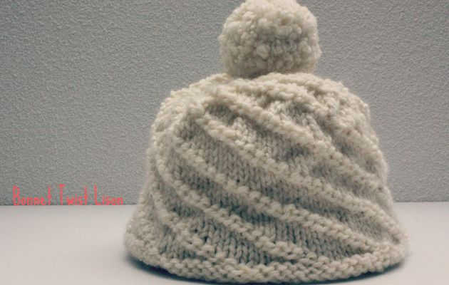 Le bonnet Twist Lison