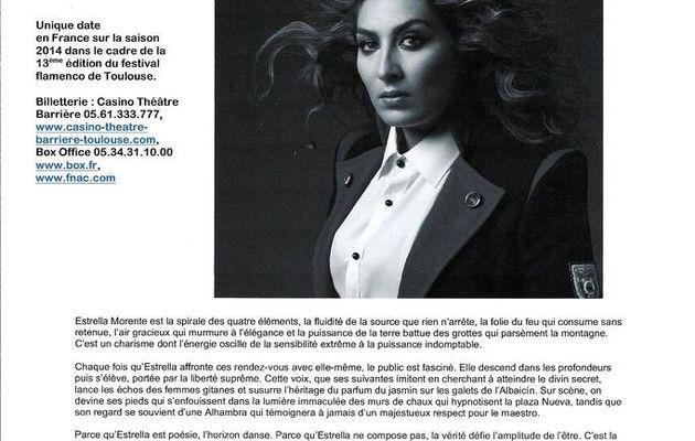13 ème édition du Festival Flamenco de Toulouse