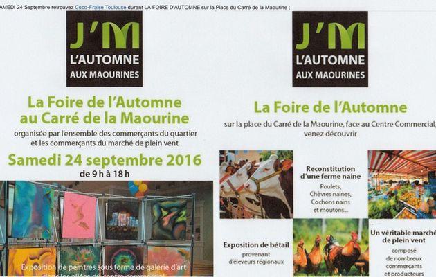 J'M L'AUTOMNE AUX MAROUINES
