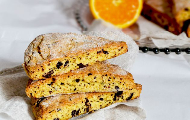 Scones Orange/Chocolat