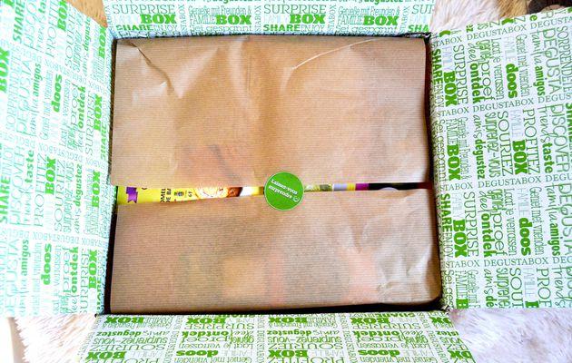Découverte box culinaire : Degustabox d'avril