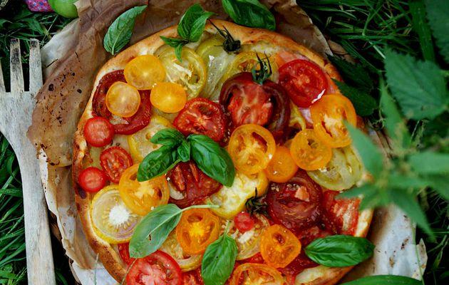 Tarte aux dernière tomates de l'été