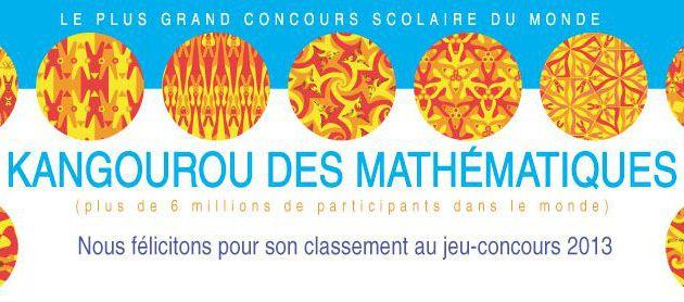 Matthieu Chatelain 179° au concours KANGOUROU !