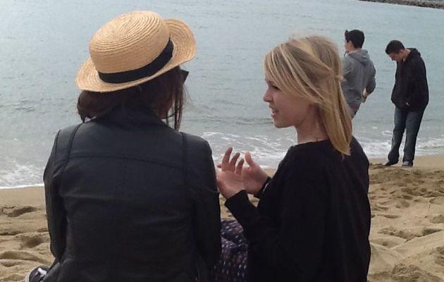 Avec Marina de retour de Barcelona
