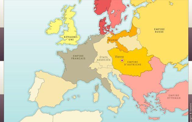 L'Europe du Congrès de Vienne (1815)
