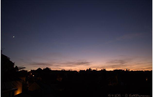 Clair de lune en Novembre..
