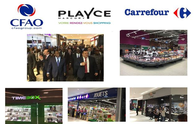 Inauguration du Centre Commercial PLAYCE
