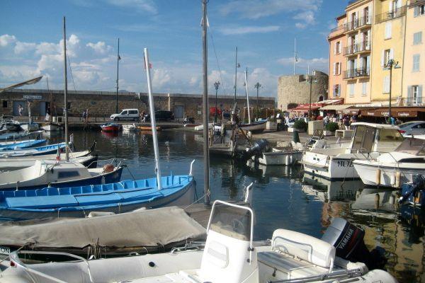 Photos : Le port de St-Tropez, en 2014
