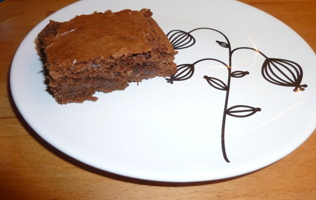 Un authentique brownie sans lait ni gluten
