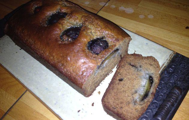 Cake aux figues fraîches et moins fraîches, sans lait ni gluten