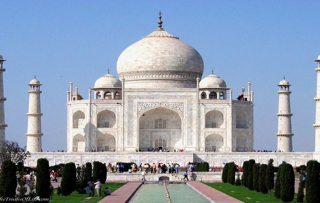 RENOVATION du TAJ MAHAL