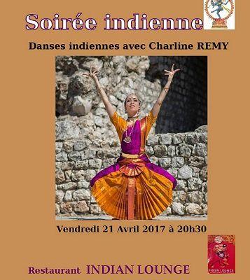 SOIREE DANSES INDIENNES au restaurant INDIAN LOUNGE à NICE