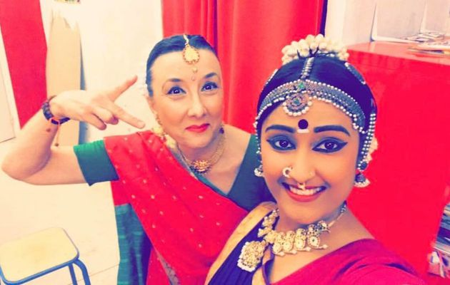 SPECTACLE de BHARATANATYAM à NICE:Hiruthiga VIGITHAN et Charline REMY