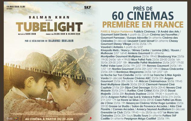"""""""TUBELIGHT"""" le film avec Salman KHAN sortie mondiale le 23 Juin 2017 en FRANCE .. et à NICE!"""