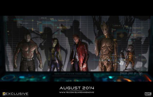 Nouveau concept art pour Guardians of the Galaxy