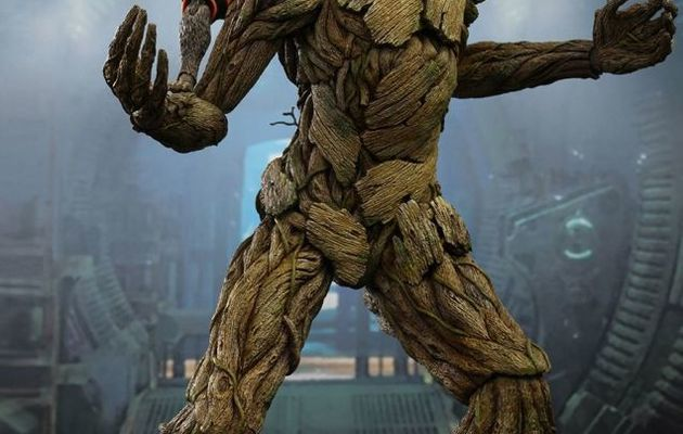 Hot Toys Rocket and Groot