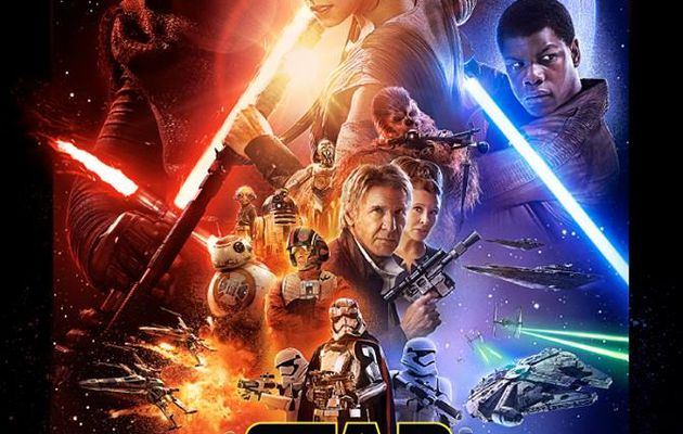 Star Wars, le Réveil de la Force, l'affiche !