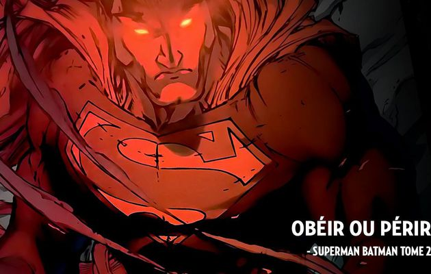 Second tome pour le duo Superman et Batman en mars