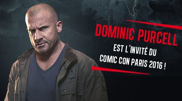 Dominic Purcell à la Paris Comic Con