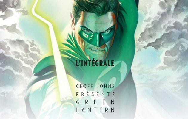 Geoff Johns présente Green Lantern l'Intégrale tome #1 en novembre !