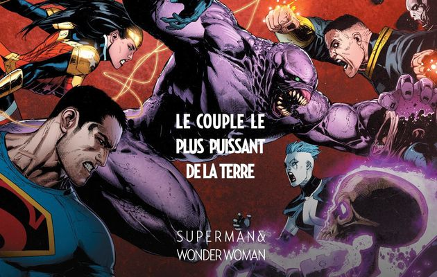 Superman & Wonder Woman tome #3 en décembre !