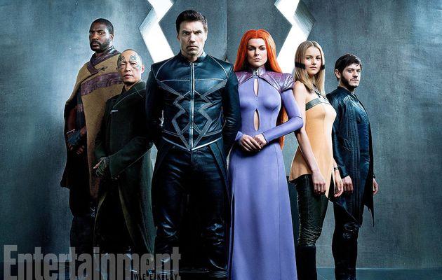 Une première image pour la série Inhumans...