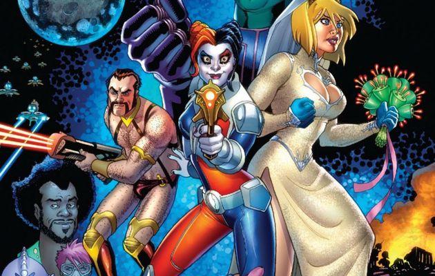 Mon Impression : Harley Quinn et Power Girl
