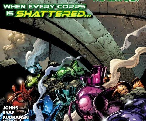 Mon Impression : Green Lantern Saga #20