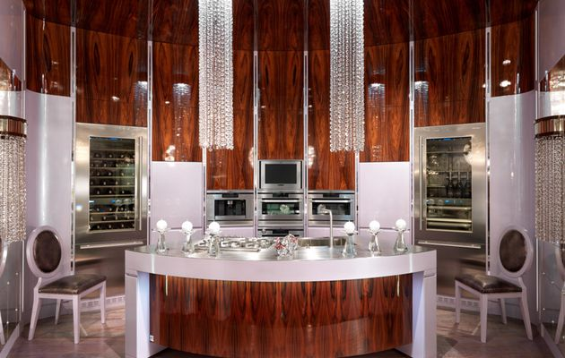 Luxury & art deco Design Kitchen
