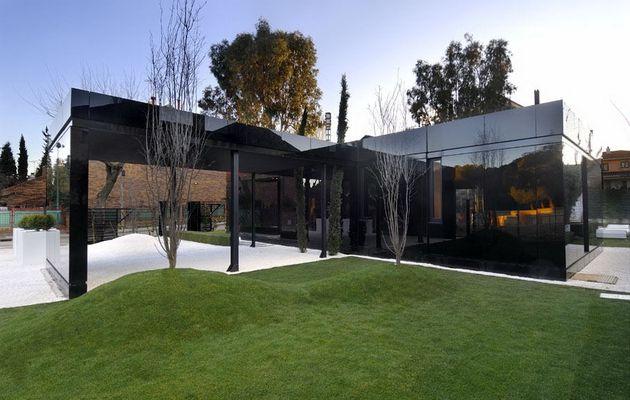 Stylisme et architecture de villa contemporaine