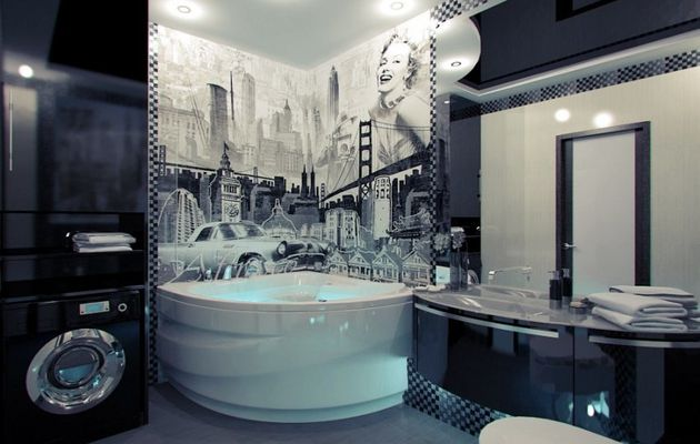 "Design moderne et style ""Hollywood"""