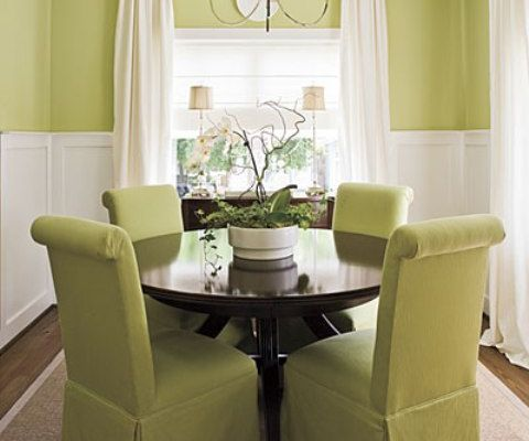 Charming and elegant dining room