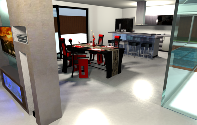 Projet en cours 3D villa sur Malte