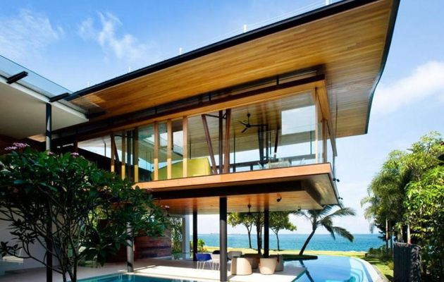 design architecture de villa