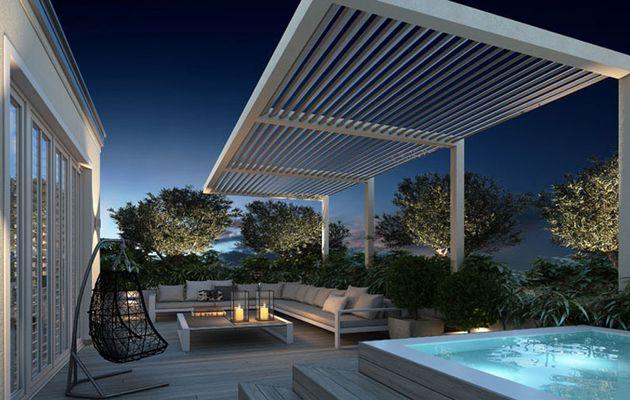 Exterior terrace modern design