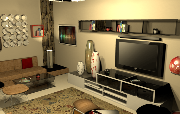 Design 3D salon