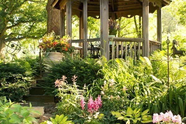 Design extérieur de jardin