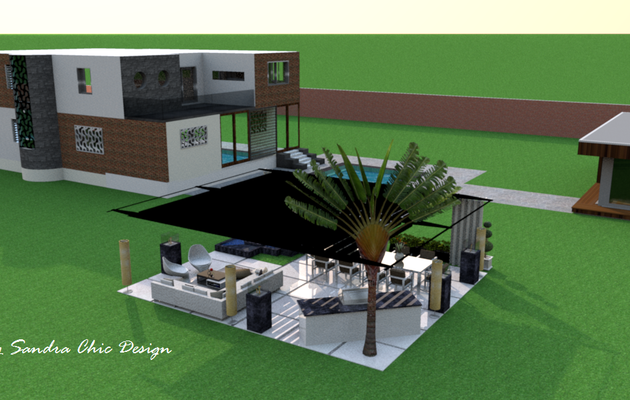 La maison de miss sandra 3 d visualizer exterior for Exterieur villa design