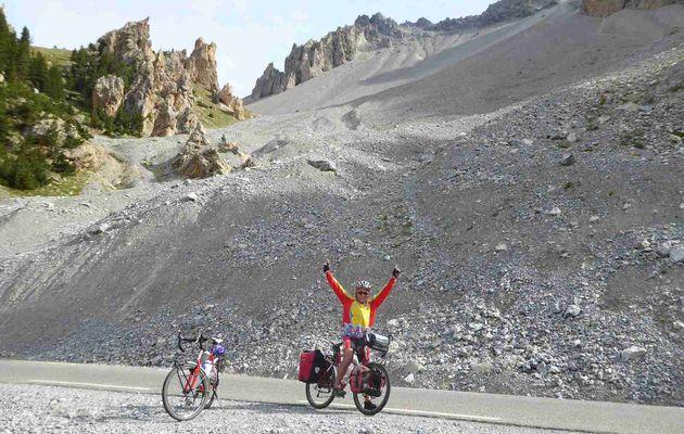 Les Grandes Alpes à vélo. 3 Septembre 2016 – L'Izoard, la Casse Déserte, Guillestre, sur la route du Col de Vars