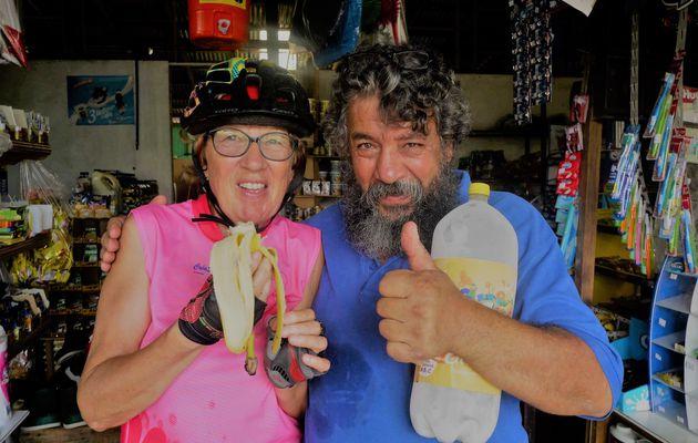 Argentina, Nicaragua à vélo 31 Janvier 2017. Amitiés costaricaines. Bienvenidos Nicaragua.