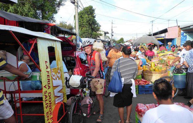 Somotillo, Nicaragua à vélo 10 Février 2017. Aujourd'hui on a tout eu ou presque