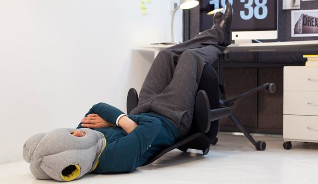 Le retour de l'Ostrich Pillow - version light
